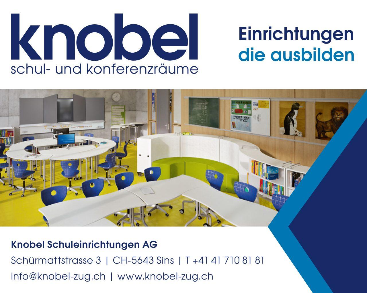 Knobel_Inserat_Schulblatt_87x65mm_4f.indd