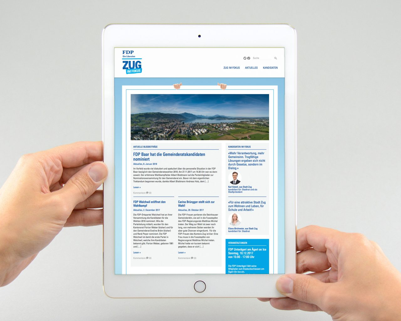 FDP_Wahlkampf_Website